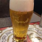 コーヒーマルシェ - まずビール!