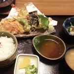 みやび - 2013/05/14 21:30訪問 てんぷら定食