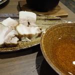 六九和 - 豚バラ肉の焼き物
