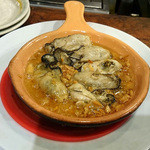 横浜チーズカフェ - 気仙沼盛尾水産 牡蠣のアヒージョ