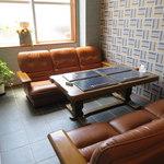 スワンタイル カフェ - スワンタイルカフェには個室もあります 2015年5月17日撮影