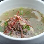 和牛焼肉 二代目 ばんばん - コムタンスープ