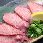 和牛焼肉 二代目 ばんばん - 牛上タン塩3