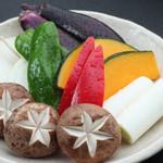 和牛焼肉 二代目 ばんばん - 焼き野菜盛り合わせ