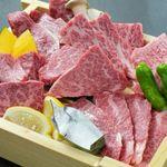 肉匠まるい - 料理写真:A5ランク「雌牛」の極上部位を堪能!【極】厳選5種盛  特上ヘレ,カイノミ,ミスジ,イチボ…肉匠まるい厳選 極上和牛三昧!サッパリした味が特徴の山形牛をご堪能ください。