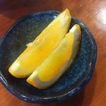 緑鮨 - 果物