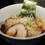 愛宕 - 京鰹旨味醤油ラーメン、中盛り