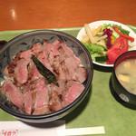 レストラン 味蕾亭 - ステーキ丼!