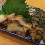 鮨 きよ原 - 煮アワビ