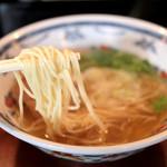 麺屋 大輔 - 細めストレート麺 '15 4月上旬