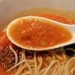 一番太鼓 - 酸味のあるスープ