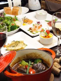 ル・タン・メルヴェイユ - コース料理もございます!お気軽にお問合せ下さい!!