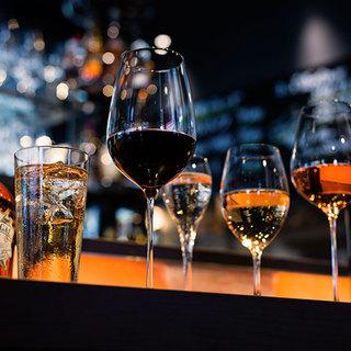 お酒の種類がとにかく豊富