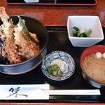 居酒屋たけ政 - 天丼 500円