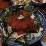 漁師料理 みき - いくら丼 1000円