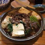 たかがい - 牛肉豆腐