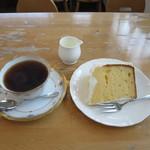 ポワール - 料理写真:ケーキセット