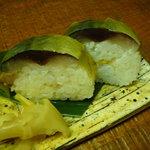 麺匠の心つくし つるとんたん - ☆鯖の棒寿司って久しぶりかも(^o^)丿☆