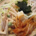 プリンス インドレストラン - 食べ放題のサラダ