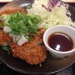 松乃家 今福鶴見店 - おろしロースかつ定食のかつ