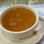 ラクシュミー - 2014年7月 ランチDセットのスープ。