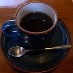 串揚処 ぶらんにゅう亭 - ランチ付属のドリンクにホットコーヒー