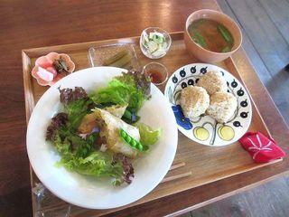 Cafe Kesanto - 本日のランチプレート(2015/05/16撮影)