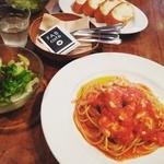 FABcafe - トマト・モッツァレラ☆ ココのパスタは何でも美味しい(๑′ᴗ‵๑)