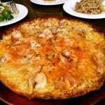 オリヂナルジョーズ - 海老とオニオンのピザ♡