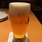 38094393 - エビスビール、350ml、525円+税