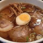 中華そば 和輝 - チャーシュー麺。 豚にライトな煮干し、カエシとのバランスも良く美味い♪