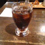 カフェ・ハイチ - 食後のアイスコーヒー