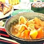 38096557 - 週替わり・焼き魚、豚汁御膳