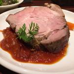 肉とワイン bonanza - ローストポーク!