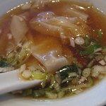 中国料理 餃子菜館 - ワンタンスープ@2009/09/07