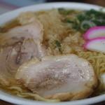 井筒 - 料理写真:天ぷらラーメン700円