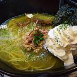 麺屋GAKU - 鶏塩クリーミー 830円