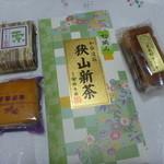 鈴木園 - 狭山新茶、ふた口羊かん、菓夢菓夢、武蔵野ケーキ