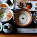 駿 - 皿そばセット