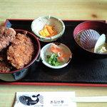 きなせ亭 - 鯨かつ丼セット