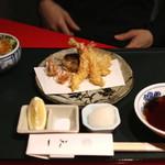 銀座 天一 - あやめ膳 (2015/04)