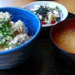 魚串 然 - 魚串丼定食