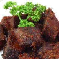 興和軒 - 牛肉の四川風マーラー和え 麻辣牛肉子