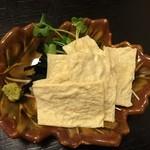 マコト - 料理写真:生ゆば 420円(税別)