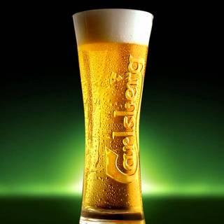 デンマーク王室御用達「カールスバーグ」の生ビール!