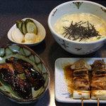 鳥せい - 雑炊セット 1050円