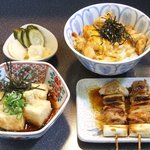 鳥せい - 親子丼セット 1260円