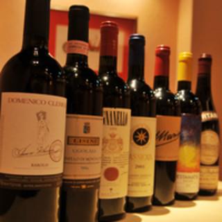 【料理をさらに美味しく】豊富なラインアップの厳選ワイン