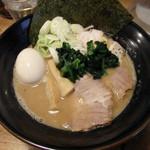 麺や わたる - 味玉らーめん(850円)(2015/3)