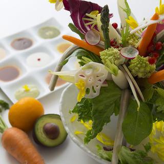 こだわりぬいた新鮮な朝採れ地野菜&有機野菜